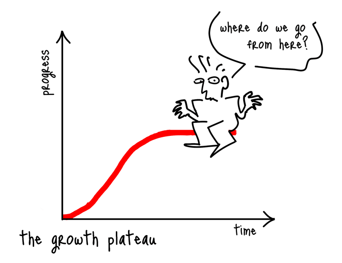 the growth plateau